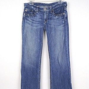 BIG STAR Womens CASEY Bootcut Thick Stitch Jeans